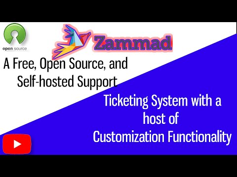 Zammad, a free, open source, self hosted Helpdesk Ticketing system to replace Snappy, osTicket, more