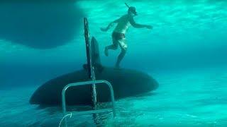 Путешествие на яхте по Карибскому морю | Остров Игуан.