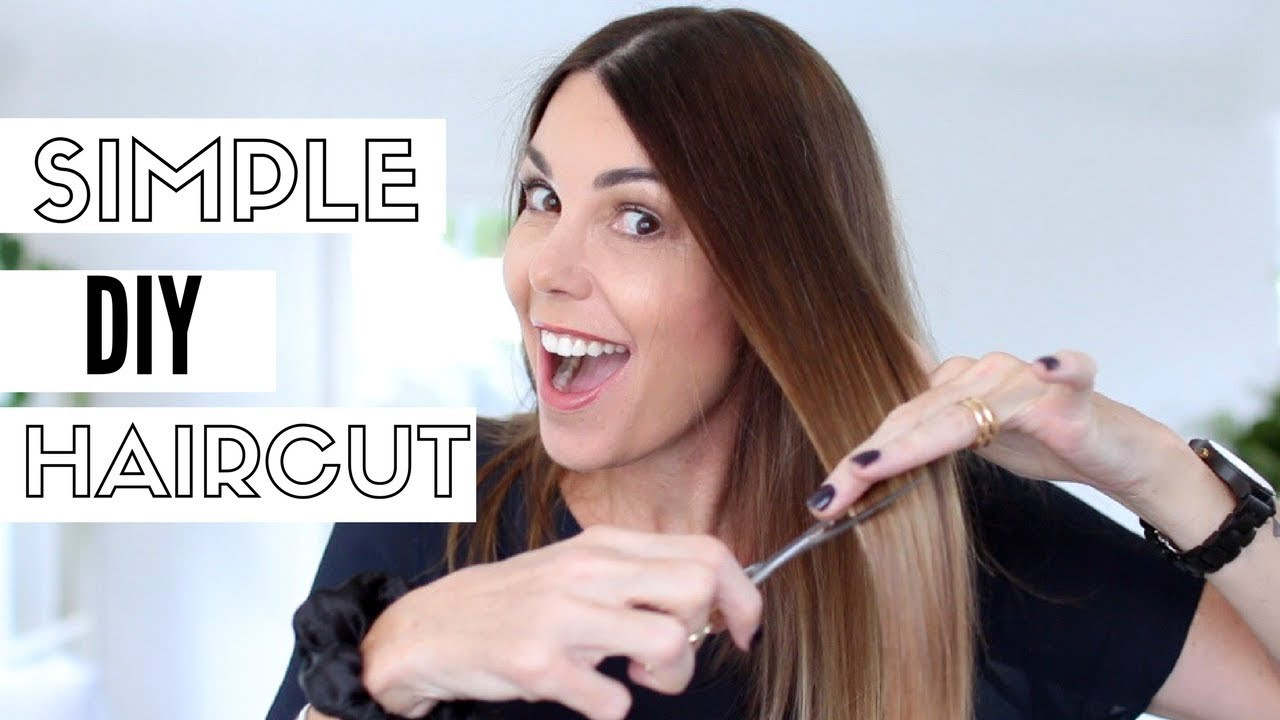 HOW I CUT MY OWN HAIR  My tips and tricks