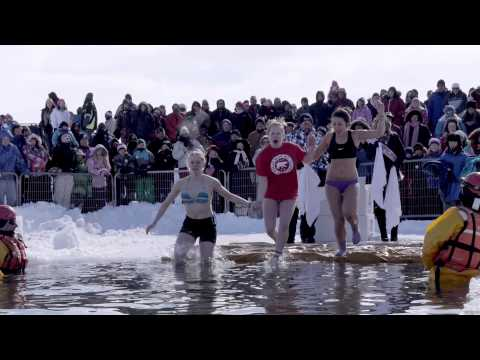 2014 Orillia Polar Bear Dip | Orillia, Ontario | Orillia Winter Carnival