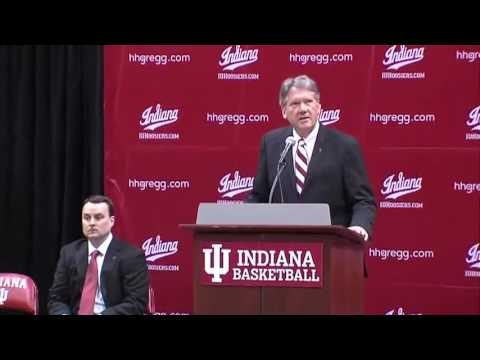 IU introduces new basketball head coach Archie Miller