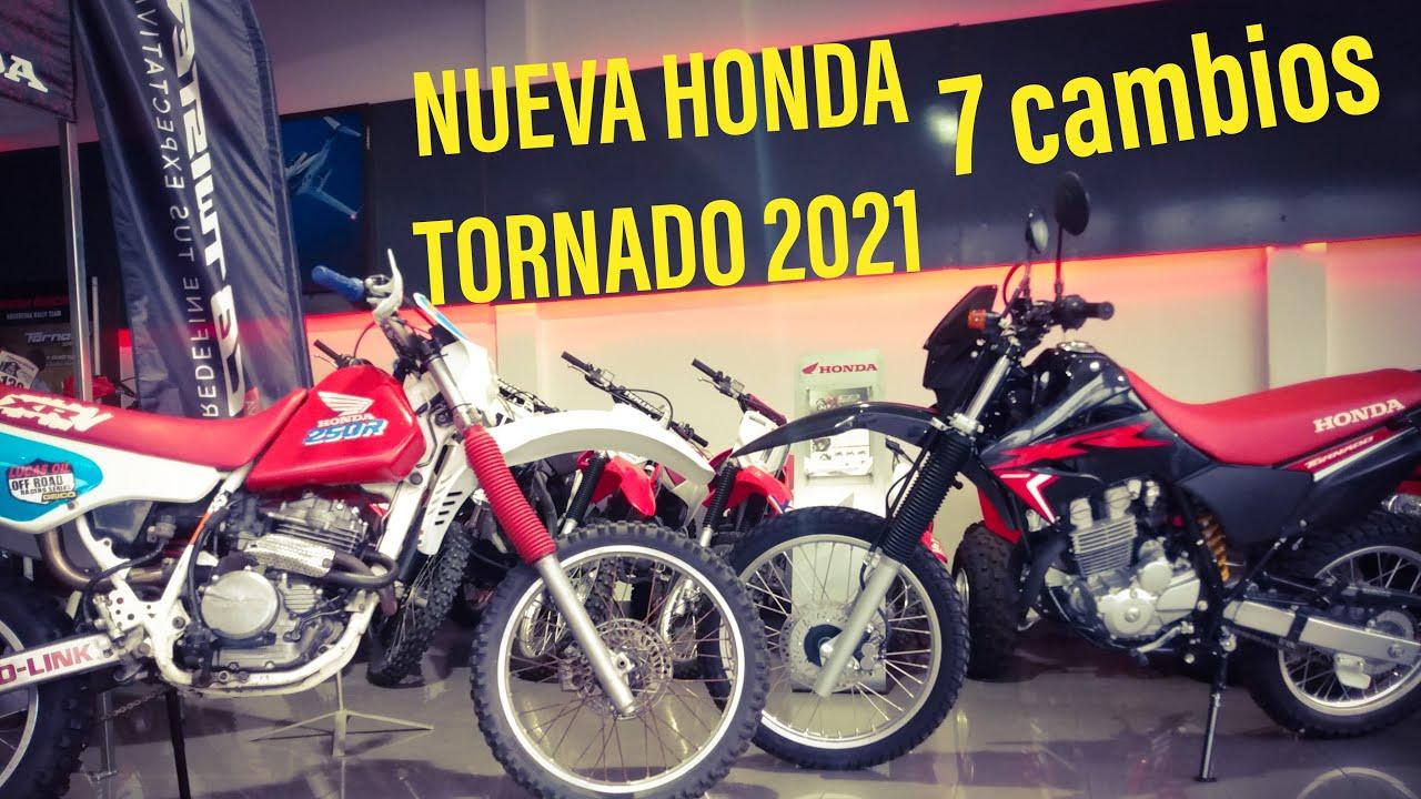Nueva Honda Tornado 250cc 2021 Youtube