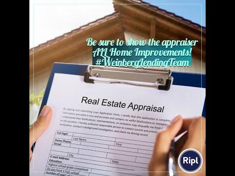 appraisal-tips-when-refinancing