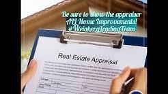 Appraisal Tips when Refinancing