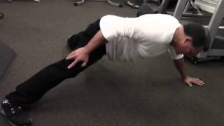 49 Year Old Man Does 50 One Handed Push Ups in less than a minute