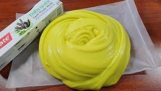 Gaint Fluffy, Làm Slime Xốp Mịn Khổng Lồ Với Colgate Trong Túi Zip