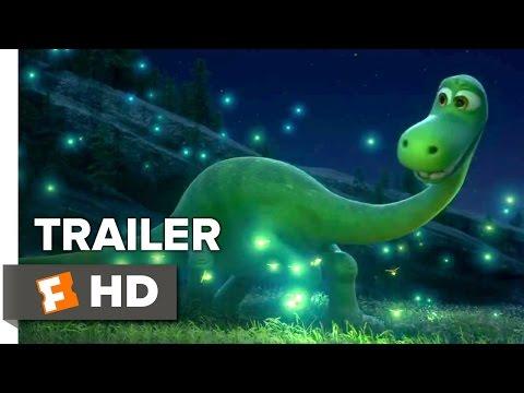 The Good Dinosaur Official Trailer #1 (2015) - Pixar Movie HD