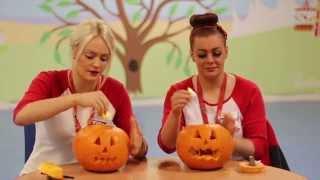 Butlins How to... Carve a Pumpkin!