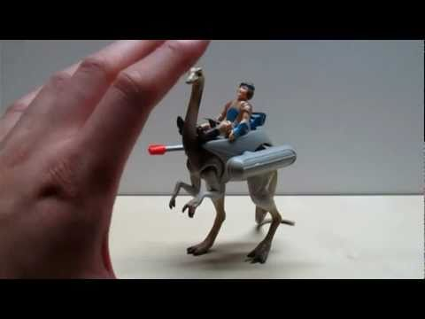 Dino-Riders Struthiomimus Toy Review