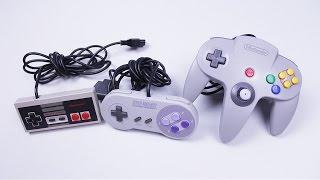 Diferencia en controles NES vs SNES vs Nintendo 64 (Evolución de controles de Nintendo 1/2)
