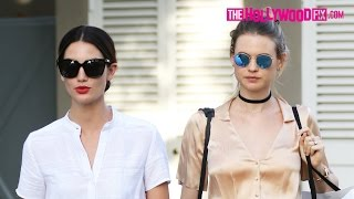 Lily Aldridge & Pregnant Behati Prinsloo Embark On A Melrose Place Shopping Spree 4.5.16 thumbnail
