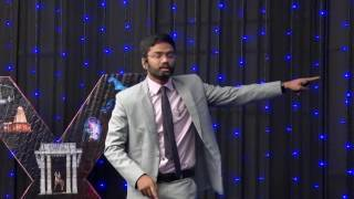 Need of youth in politics | AKHIL ENNAMSETTY | TEDxSREC