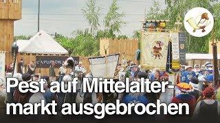 Pest auf Mittelaltermarkt ausgebrochen