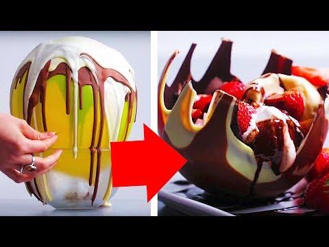 11 Crazy Chocolate Ideas   Chocolate Recipes   Food Hacks   Craft Factory
