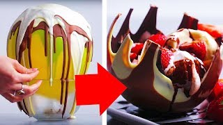 11 Crazy Chocolate Ideas | Chocolate Recipes | Food Hacks | Craft Factory