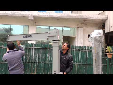 Truck Mounted Job Cranes Opening by Desol Associated Engineers, Ghaziabad