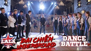 LA LA SCHOOL | BATTLE DANCE | LA LA ANGEL vs THE NEW STYLE KING