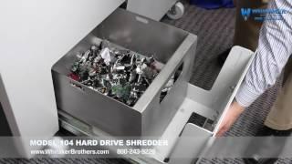 104 Hard Drive Shredder