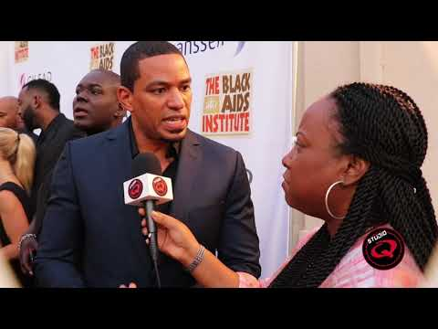 Laz Alonso at 'Heroes in The Struggle' gala by Black Aids Institute