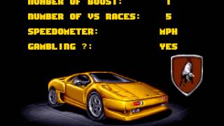 Lamborghini - American Challenge - September 2014 SNES Music - Lamborghini - American Challenge (Title Screen) - User video