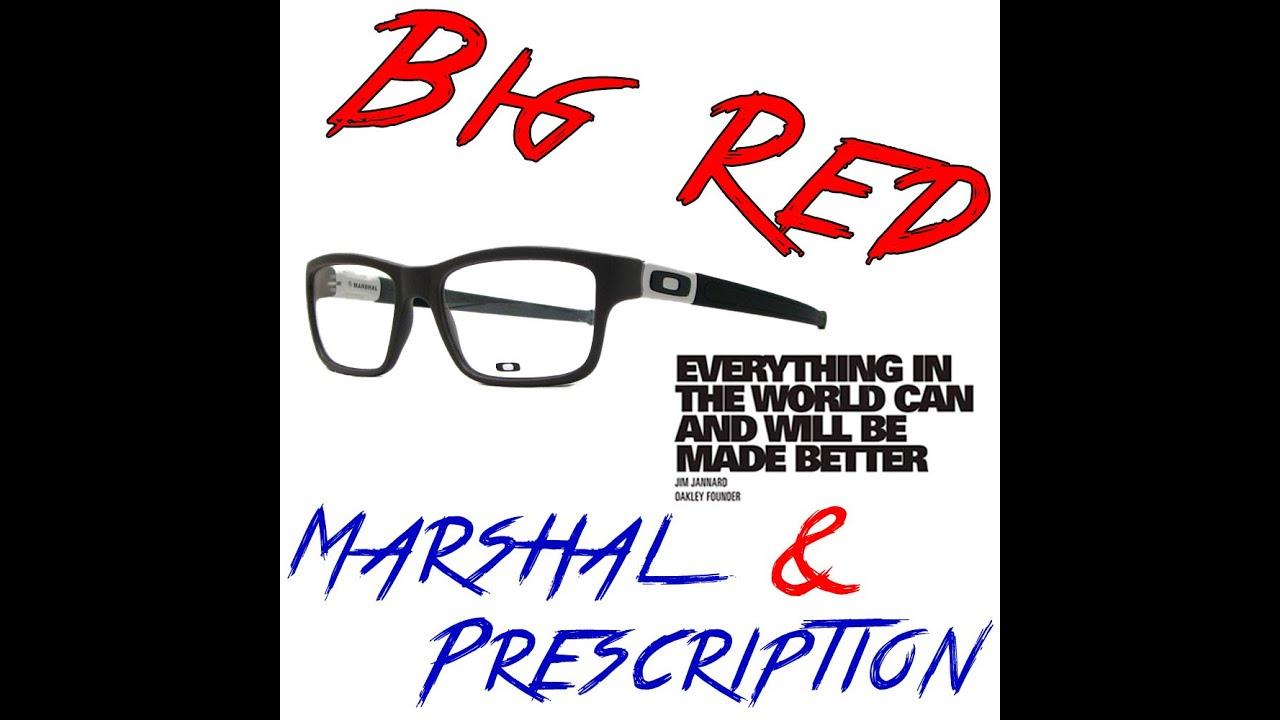 b893b52d5b Oakley Marshal Prescription - YouTube