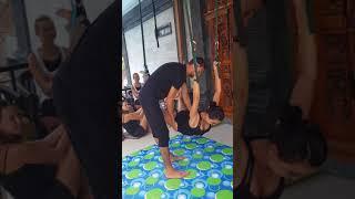 Камасутра отдыхает! Мое новое открытие : йога на веревочках!