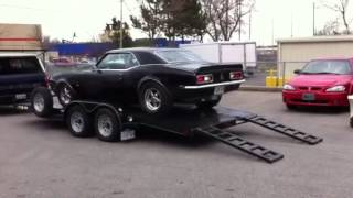 1968 Camaro going to the dyno.