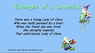 ♣♣♣♣ Limericks - How To Write A Limerick - Guide to Limericks and Examples
