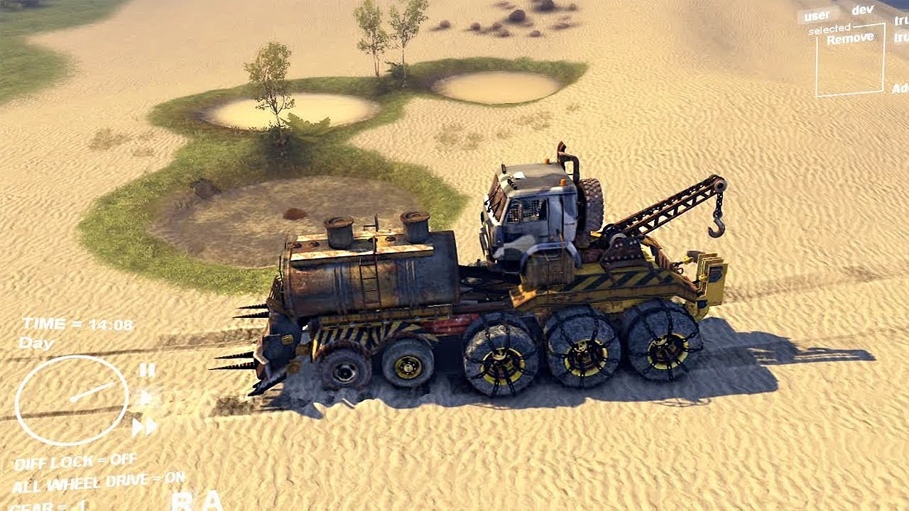 spintires how to get more cars
