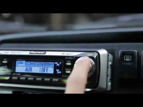 How to setup the Aux/Auxilliary input for a Pioneer DEH-P7700MP CD/Tuner