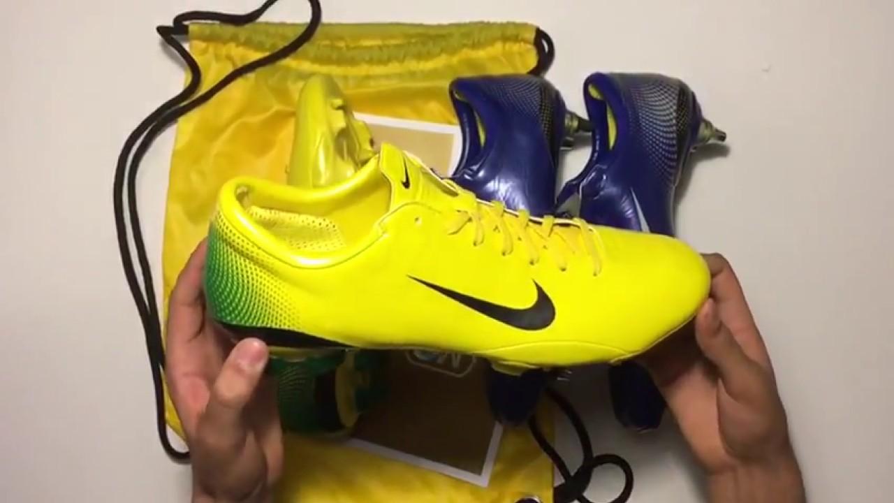 3998959ff002 Nike Mercurial Vapor III Brazil Yellow and Blue! Classic Boots Matter