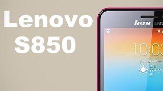 Видео обзор 5 дюймового телефона Lenovo S850(Предлагаем вашему вниманию еще один наш русскоязычный видео обзор, который посвящен стильному, тонкому..., 2014-08-23T10:17:10.000Z)