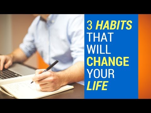 3 habits that will change your life | Tamil