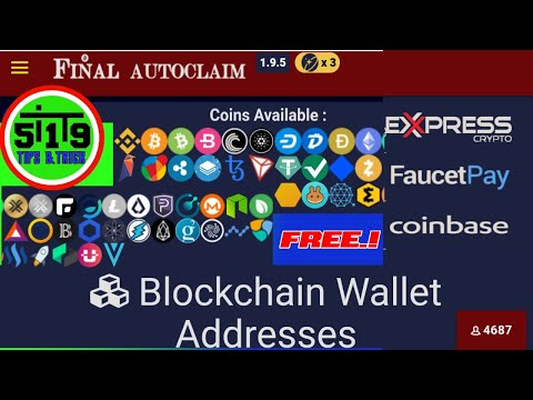 Faucet Crypto Legit 2021 || Final Autoclaim || Multicoin WD Faucetpay, Express Crypto, Dan Coinbase