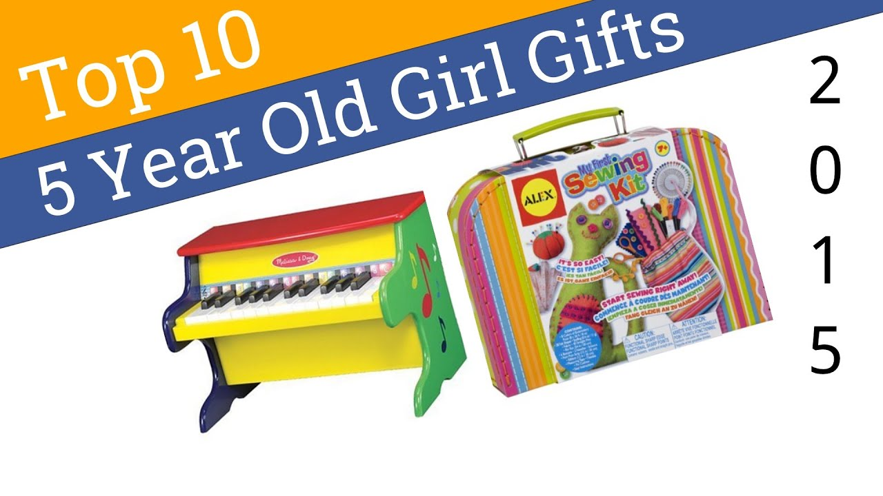 10 Best 5 Year Old Girl Gifts 2015 - YouTube