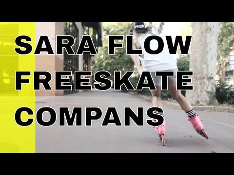 Sara Flow freeskate in Compans ( pascal briand vlog 162) thumbnail