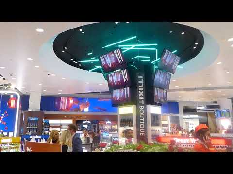 Dufry's 'New Generation' duty free store at Melbourne Airport