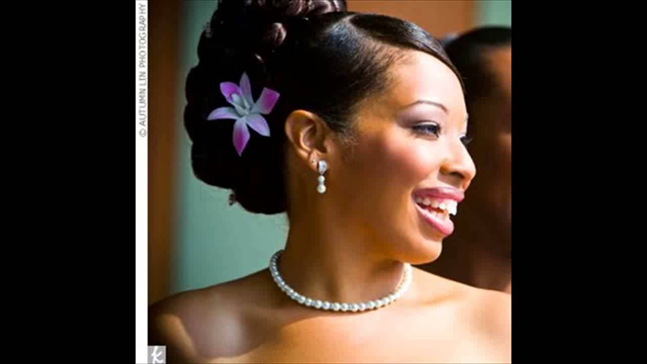 African American Flower Girl Wedding Hairstyles - YouTube