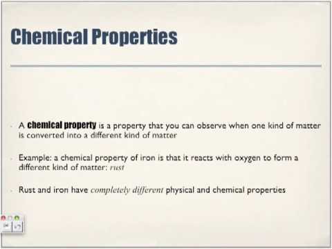 what is a chemical property of iron