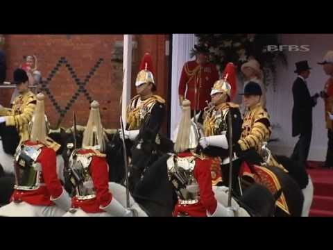 Royal Military Welcome for UAE President 30.04.13