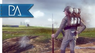 WW1 Germany Invades Belgium: Summer 1914 - The Great War Total War Mod Gameplay