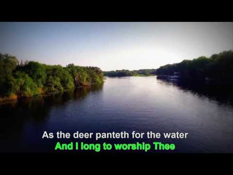 As the Deer Gospel Karaoke HD1080P Vocal