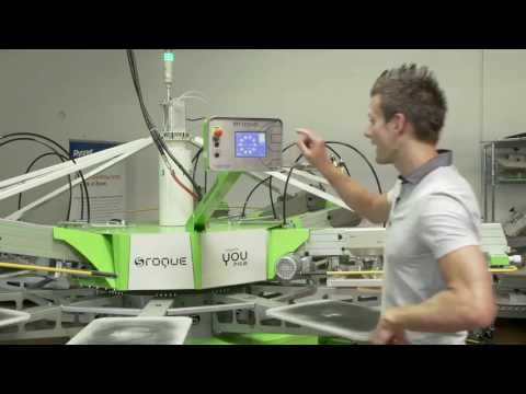 How to Screen Print: Inverting Platen Rotation S.Roque Automatic Press