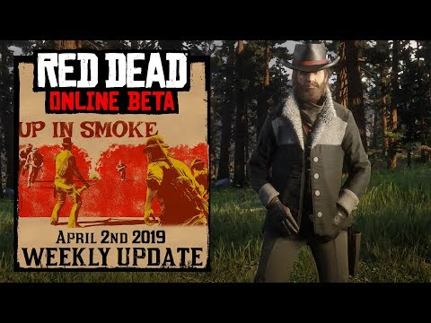 Red Dead Redemption 2 Online Update - April 2nd 2019 -Up in Smoke thumbnail
