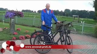 Raleigh Donnington Fahrrad zum Aktionspreis. Vorführung