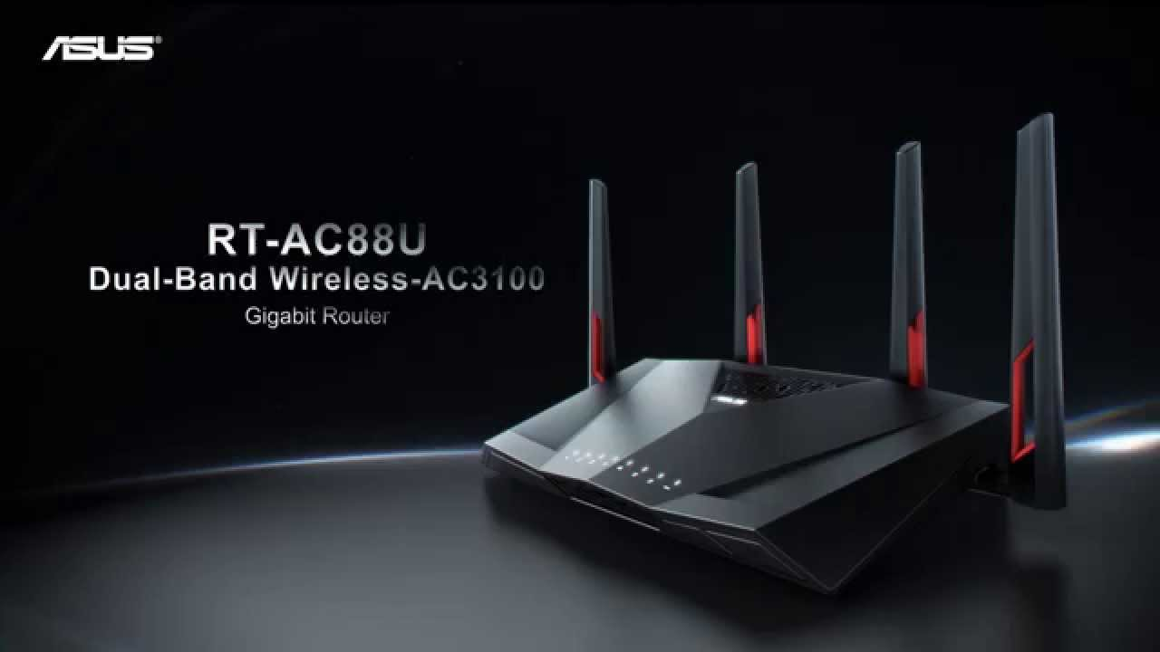 RT-AC88U Çift Bant Kablosuz Gaming Router | ASUS - YouTube