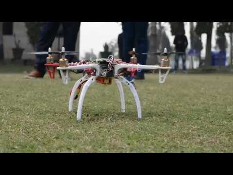 Exploring The Concept OF DRONE by Department of ECE (Electronics and Communication Engineering)