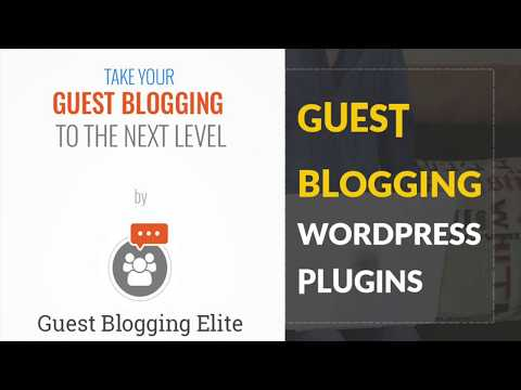 Wordpress Plugin to Allow Users to Post on Front-end - Guest Blogging Elite