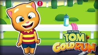 Talking Tom Gold Run - Outfit7 Limited Racing Day 1 Walkthrough