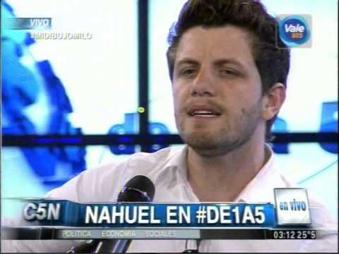 C5N - MUSICA EN VIVO:  NAHUEL EN DE1A5